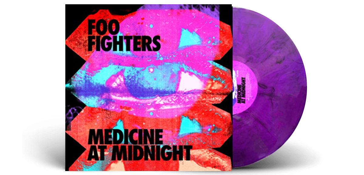 pochette album medecine at midnight