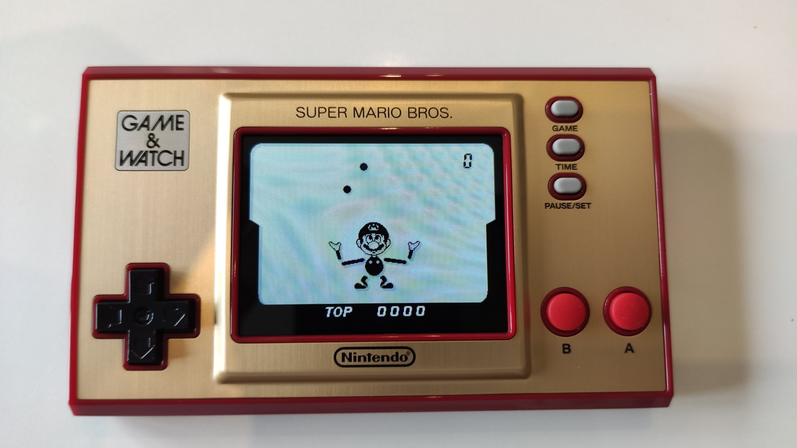 jeu ball avec Mario