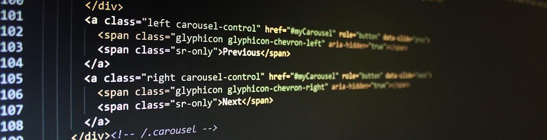 éditeur de code informatique